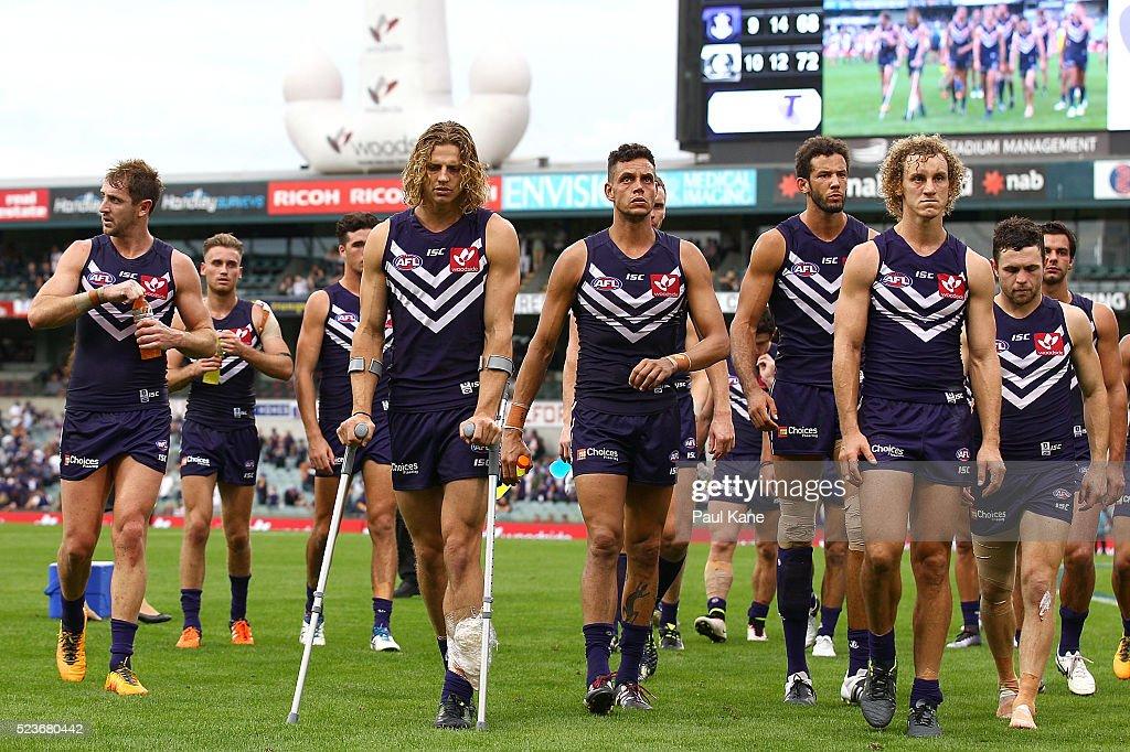 AFL Rd 5 - Fremantle v Carlton