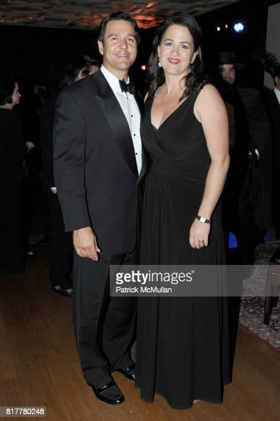 Nathan Gunn and Julie Gunn attend VIP MASKED BALL for Susan G Komen Headlined by Sir Richard Branson Katie Couric Cornelia Guest HM Queen Noor and...