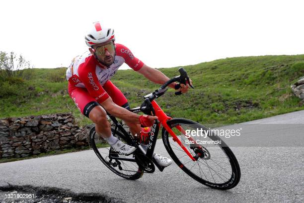 Nathan Haas of Australia and Team Cofidis during the 73rd Critérium du Dauphiné 2021, Stage 7 a 171,5km stage from Saint-Martin-Le-Vinoux to La...