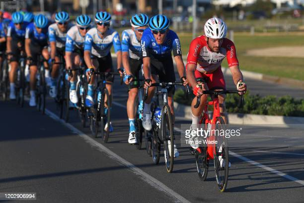 Nathan Haas of Australia and Team Cofidis Solutions Credits / Dylan Sunderland of Australia and Team NTT Pro Cycling / Peloton / during the 4th...