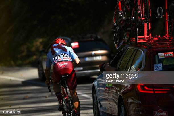 Nathan Haas of Australia and Team Katusha Alpecin / Car / during the 99th Volta Ciclista a Catalunya 2019, Stage 2 a 166,7km stage from Mataró to...