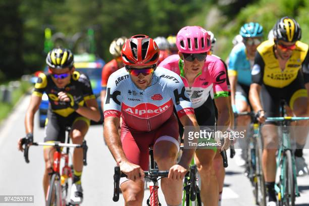 Nathan Haas of Australia and Team Katusha Alpecin / Sep Vanmarcke of Belgium and Team EF Education First - Drapac P/B Cannondale / during the 82nd...