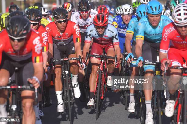 Nathan Haas of Australia and Team KatushaAlpecin / during the 109th MilanSanremo 2018 a 291km race from Milan to Sanremo on March 17 2018 in Sanremo...