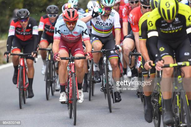 Nathan Haas of Australia and Team KatushaAlpecin /during the 109th MilanSanremo 2018 a 291km race from Milan to Sanremo on March 17 2018 in Sanremo...