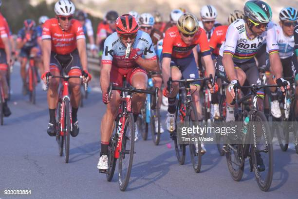 Nathan Haas of Australia and Team KatushaAlpecin / Feeding Gell 7 during the 109th MilanSanremo 2018 a 291km race from Milan to Sanremo on March 17...