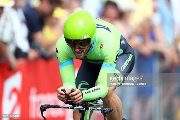 Nathan Haas of Australia riding for Team Cannondale-Garmin during the 2015 Tour of France, Stage 1, Individual Time Trial, Utrech - Utrech , on July...
