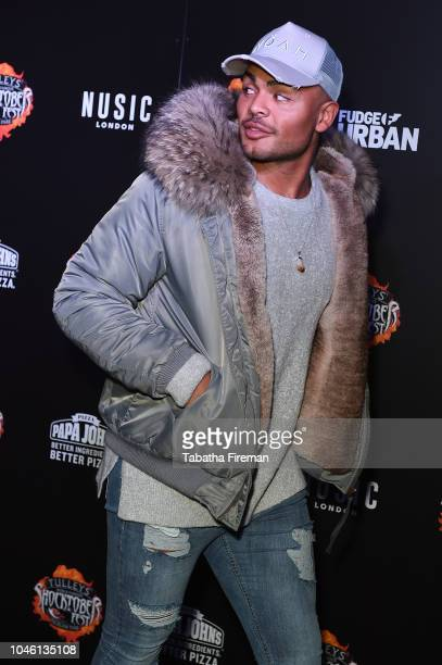 Nathan Henry attends the press night for Shocktober Fest at Tulleys Farm on October 5 2018 in Crawley West Sussex