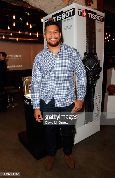 Nathan Hughes attends The Tissot x NBA Launch Party at BEAT on January 10 2018 in London England