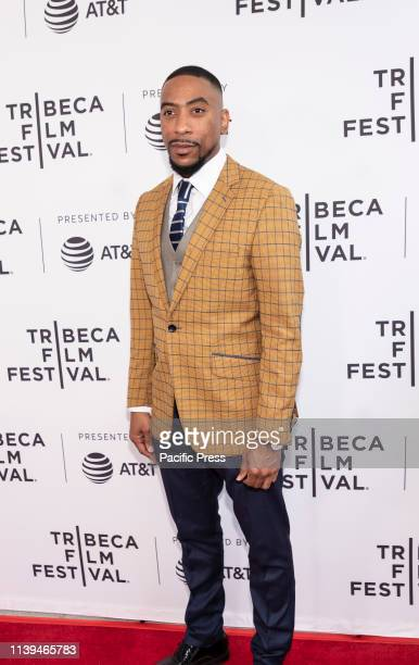 Nathan James attends the Standing Up Falling Down premiere during 2019 Tribeca Film Festival at SVA Theater Manhattan