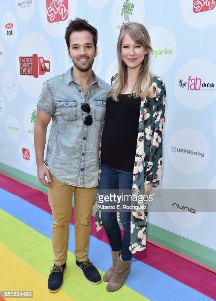 Nathan Kress and London Kress at Step 2 Presents 6th Annual Celebrity Red CARpet Safety Awareness Event on September 23 2017 in Culver City California