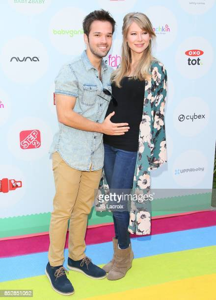 Nathan Kress and London Kress attend the 6th Annual Celebrity Red CARpet Safety Awareness Event on September 23 2017 in Culver City California