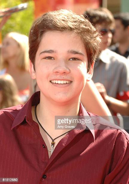 Nathan Kress attends the Los Angeles premiere of Dreamworks' 'Kung Fu Panda' at Grauman's Chinese Theatre on June 1 2008 in Hollywood California