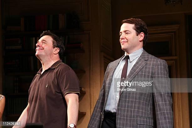 Nathan Lane and Matthew Broderick take their Curtain Call