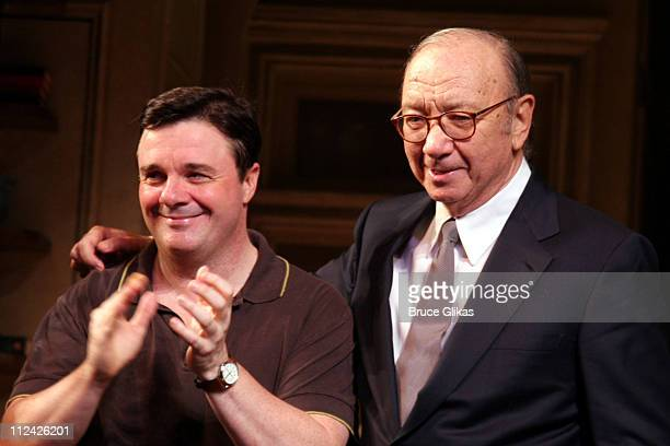 Nathan Lane and Neil Simon take their Curtain Call