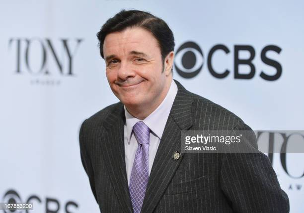 Nathan Lane attends 2013 Tony Awards The Meet The Nominees Press Junket at the Millenium Hilton on May 1 2013 in New York City