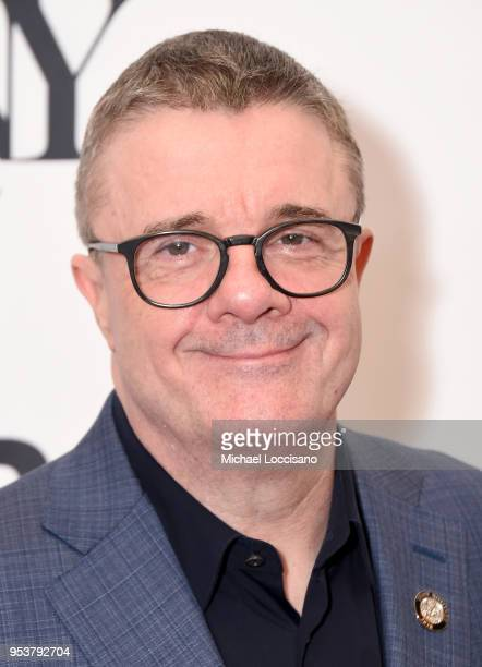 Nathan Lane attends the 2018 Tony Awards Meet The Nominees Press Junket on May 2 2018 in New York City