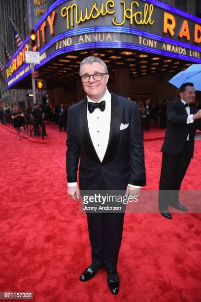 Nathan Lane attends the 72nd Annual Tony Awards at Radio City Music Hall on June 10 2018 in New York City