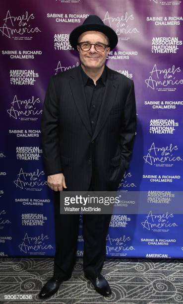 Nathan Lane attends The American Associates of the National Theatre's Gala celebrating Tony Kushner's 'Angels in America' on March 11 2018 at the...