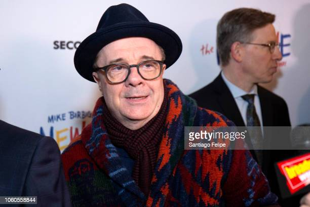 Nathan Lane attends The New One Broadway Opening Night at Cort Theatre on November 11 2018 in New York City