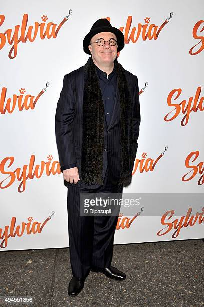 Nathan Lane attends the Sylvia opening night at Cort Theatre on October 27 2015 in New York City