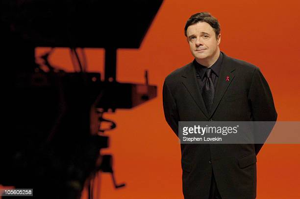 Nathan Lane *Exclusive Coverage* during Joel Schumacher Directs HIV/AIDS PSA For Cable Positive at Horvath Studios in New York City New York United...