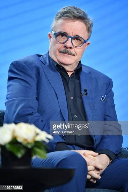 """Nathan Lane of """"Penny Dreadful: City of Angels"""" speak during the Showtime segment of the 2020 Winter TCA Press Tour at The Langham Huntington,..."""