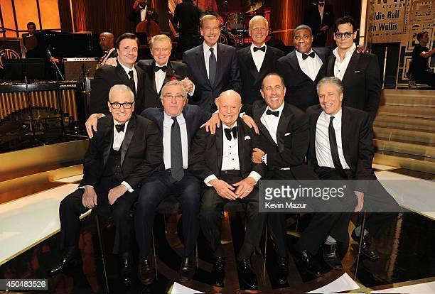 Nathan Lane Regis Philbin Brian Williams David Letterman Tracy Morgan Johnny Depp Martin Scorsese Robert DeNiro Don Rickles Jerry Seinfeld and Jon...
