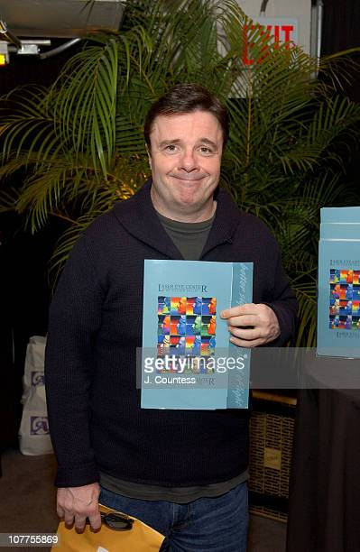 Nathan Lane with a certificate for Lasik Eye Surgery from the Laser Eye Center of Silicon Valley