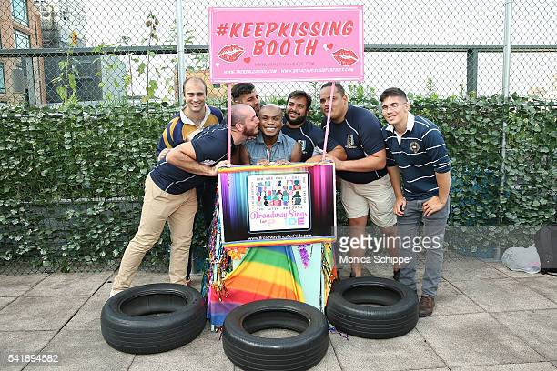 Nathan Lee Graham attends the 6th Annual Broadway Sings For Pride Concert at JCC Manhattan on June 20 2016 in New York City