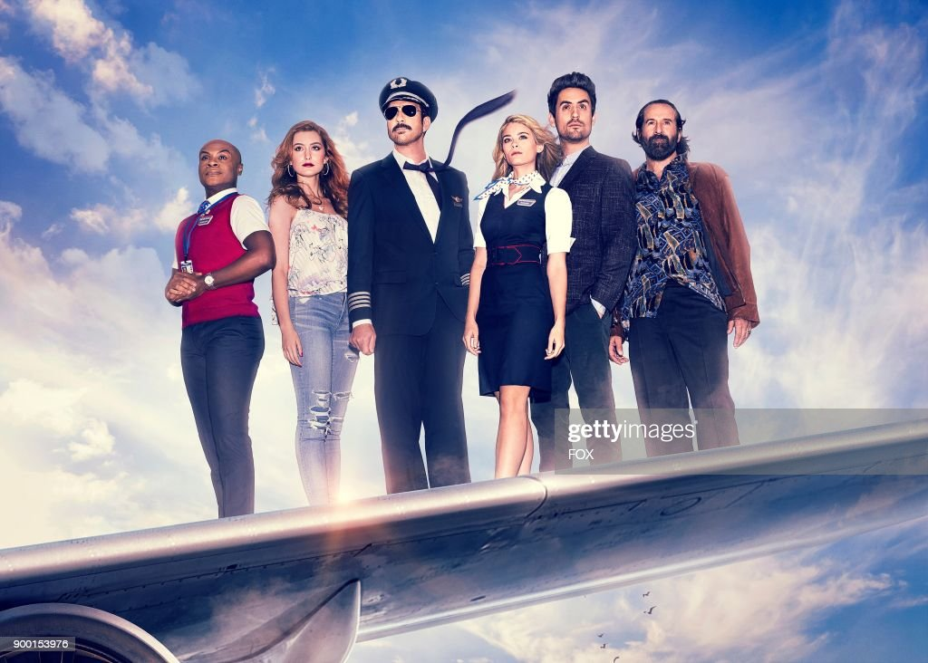 Nathan Lee Graham, Olivia Macklin, Dylan McDermott, Kim Matula, Ed Weeks and Peter Stormare in LA TO VEGAS premiering Tuesday, Jan. 2 (9:00 -9:30 PM ET/PT) on FOX.