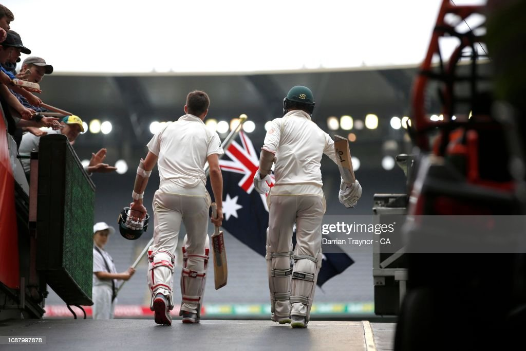 Australia v India - 3rd Test: Day 5 : News Photo