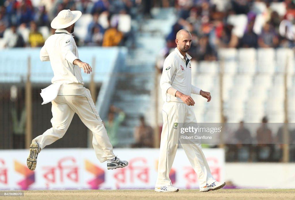 Bangladesh v Australia - 2nd Test: Day 1 : News Photo