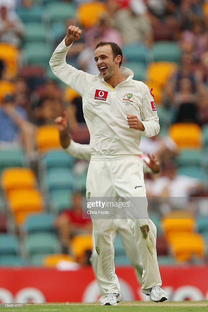 Australia v New Zealand - First Test: Day 1 : Fotografía de noticias
