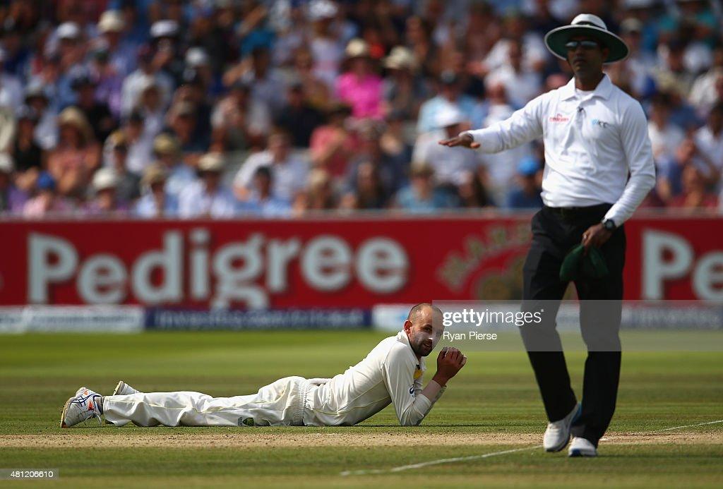 England v Australia: 2nd Investec Ashes Test - Day Three