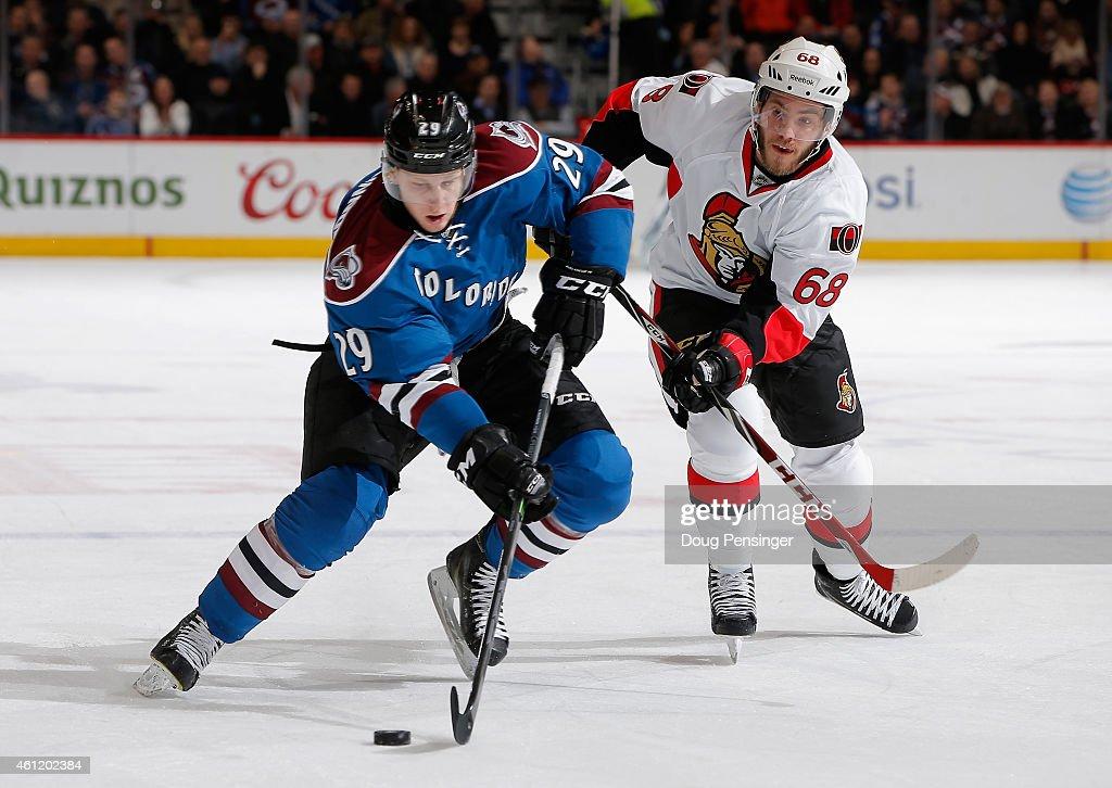 Ottawa Senators v Colorado Avalanche : News Photo