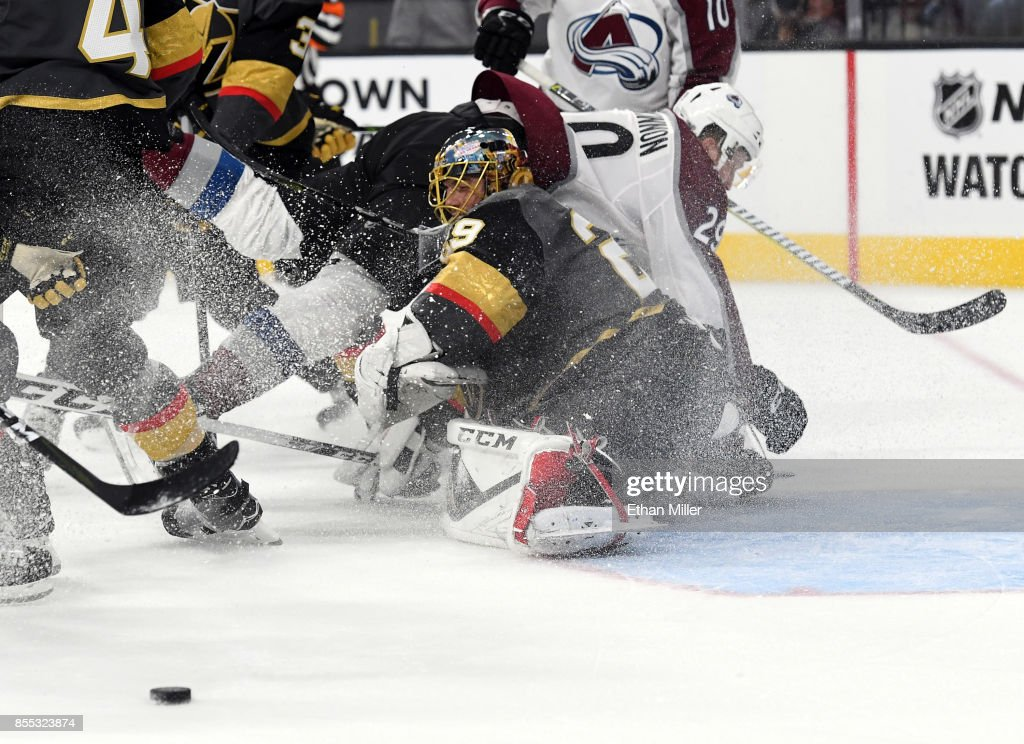 Colorado Avalanche v Vegas Golden Knights