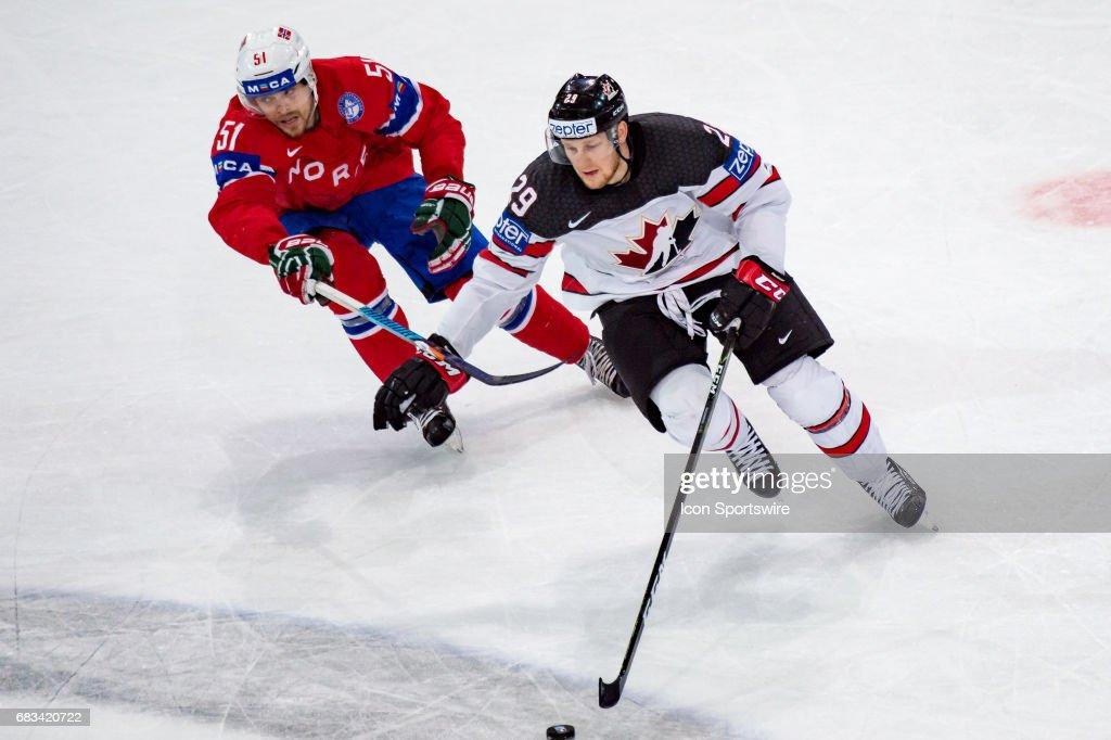 HOCKEY: MAY 15 IIHF World Championship - Canada v Norway : News Photo