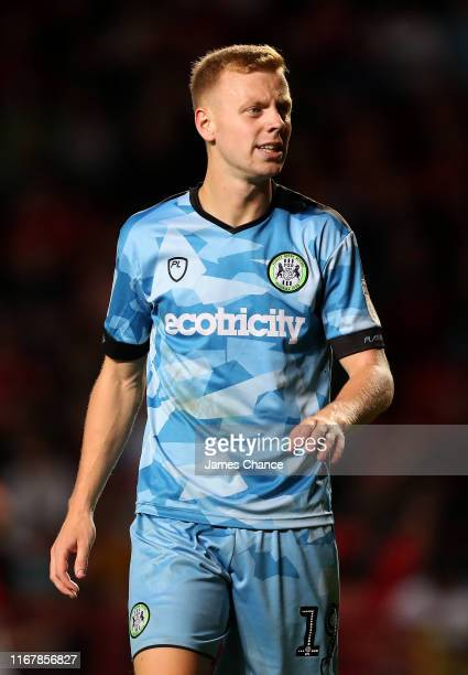 Nathan McGinley of Forest Green Rovers looks on during the Carabao Cup First Round match between Charlton Athletic and Forest Green Rovers at The...