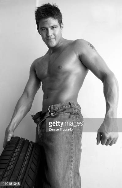 Nathan Minor during A Day In The Life Of A Chippendales Dancer in Las Vegas Nevada United States