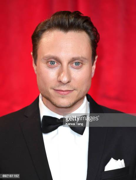 Nathan Morris attends the British Soap Awards at The Lowry Theatre on June 3 2017 in Manchester England