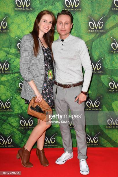 Nathan Morris attends the Cirque Du Soleil's OVO Premiere at The Liverpool Echo Arena on August 16 2018 in Liverpool England
