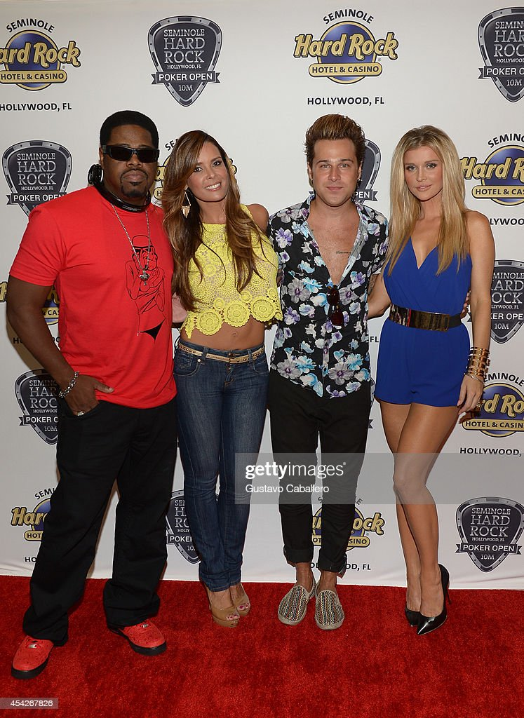 ¿Cuánto mide Joanna Krupa? - Real height Nathan-morris-karent-sierra-ryan-cabrera-and-joanna-krupa-attend-the-picture-id454267826