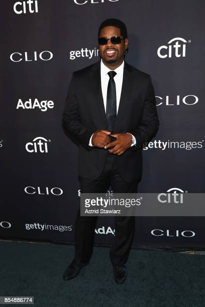 Nathan Morris of 'Boys to Men' attends the 2017 Clio Awards at Lincoln Center on September 27 2017 in New York City