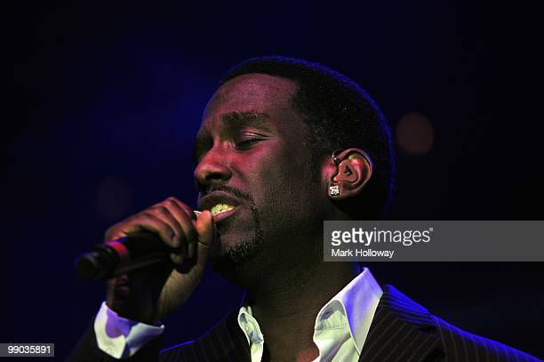 Nathan Morris of Boyz II Men performs on stage at O2 Academy on May 11 2010 in Bournemouth England