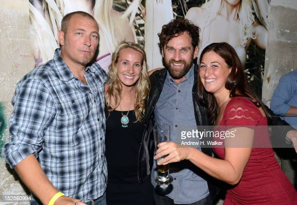 Nathan Myers Katie MacPherson Taylor Steele and Morgan Rae Berk attend the New York Surf Film Festival Closing Night Party hosted by Calavera...