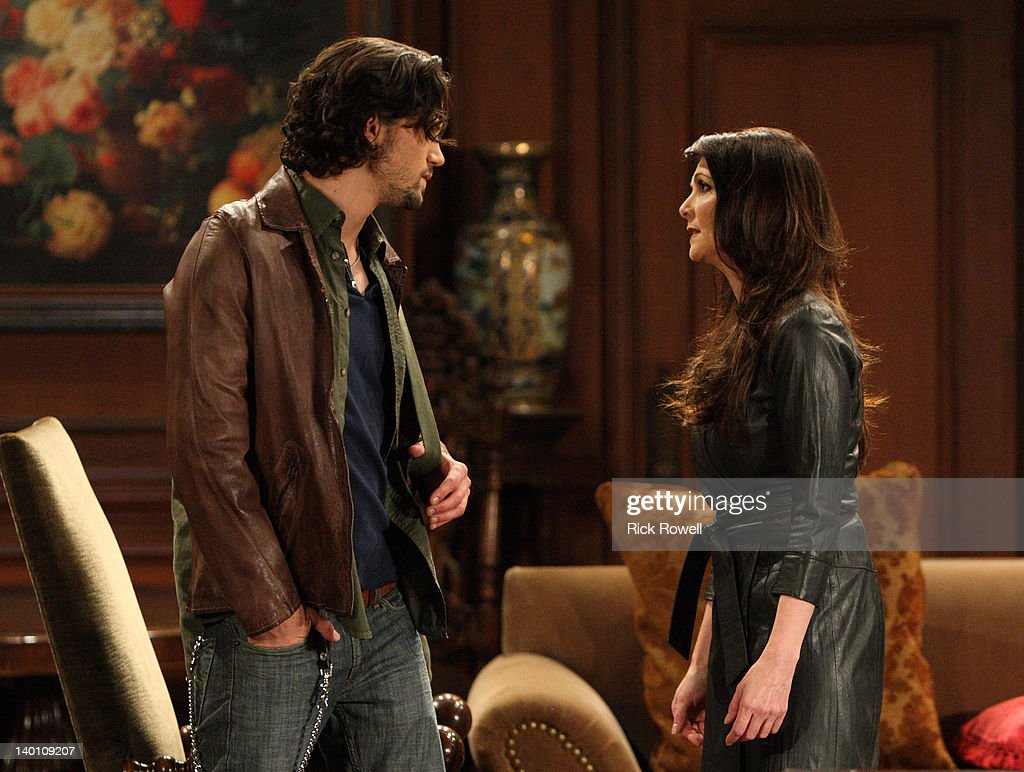 HOSPITAL - Nathan Parsons (Ethan) and Emma Samms (Holly) in a scene that airs the week of February 27, 2012 on ABC Daytime's 'General Hospital.' 'General Hospital' airs Monday-Friday (3:00 p.m. - 4:00 p.m., ET) on the ABC Television Network. GH12 NATHAN