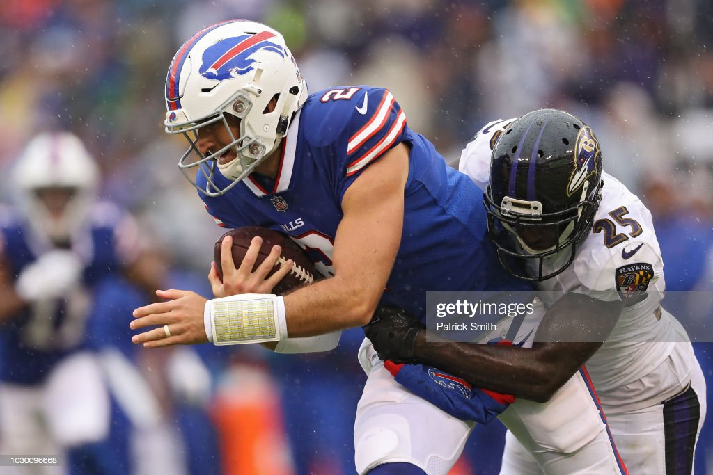 Buffalo Bills v Baltimore Ravens