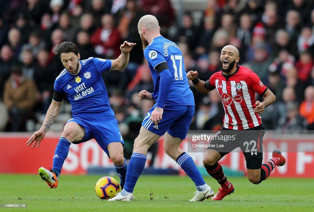 Southampton FC v Cardiff City - Premier League : News Photo