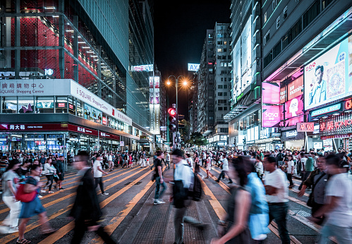 Nathan Road, Hong Kong - gettyimageskorea