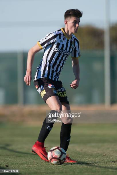 Nathan Rodes during the friendly match between Royal Charleroi SC vsYanbian Funde FC at Pinatar Arena Murcia SPAIN 10th January of 2018